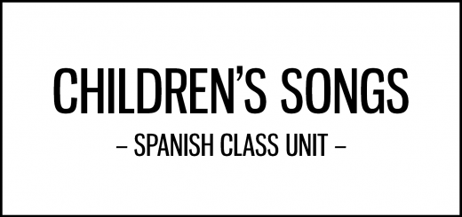 childrens_songs_unit_spanish_class_activities_featured