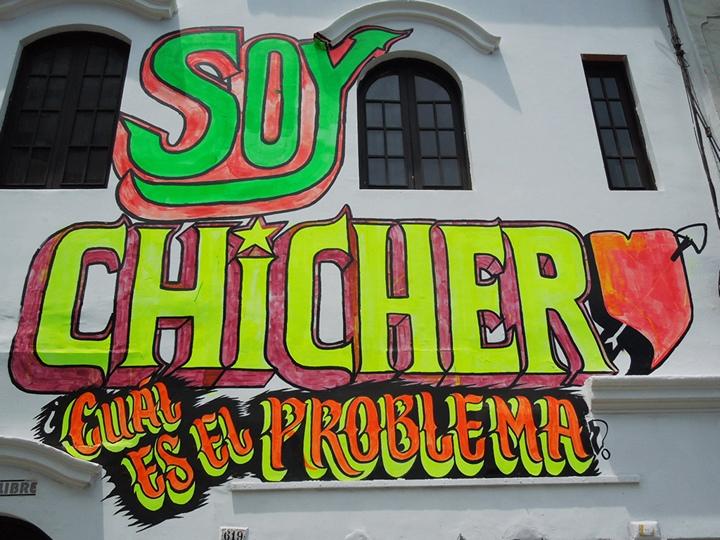 Soy chichero, ¿cuál es el problema? Foto de Natalio Pinto