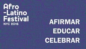 Festival Afrolatino: Afirmar, educar, celebrar