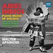 """Aires indios Walter Aparicio Bolivia """"I. Andantino"""" • obra maestra del piano clásico con suites cohesivos, interpretrada magistralmente"""