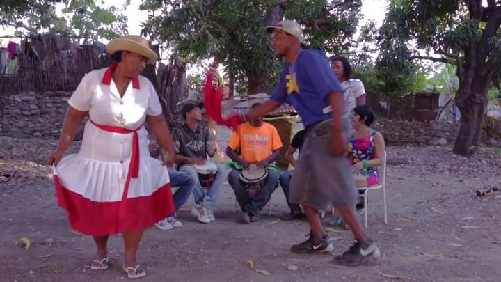 Una de las danzas de la Sarandunga