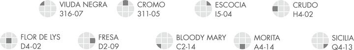 Comex Trends 16: Pulso: Nombre de los colores