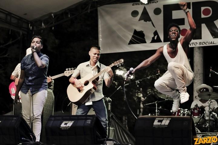 """""""Aprendí a volar"""" - Alto Volumen en el AfroFest (Foto: Renso Delgado, El Zarzo)"""