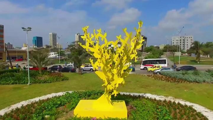 El Monumento 'Mariposas amarillas', homenaje a Gabriel García Márquez