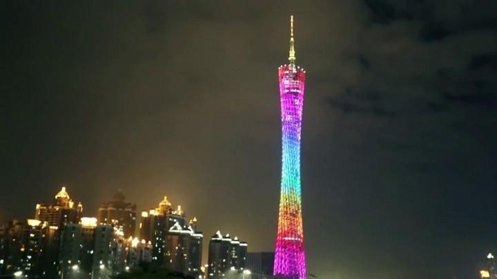 La Torre de Cantón (Guangzhou, China)