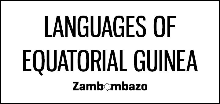 Languages of Equatorial Guinea