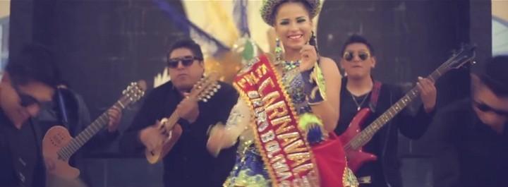 Natalia Hinojosa, Predilecta del Carnaval de Oruro 2016, baila