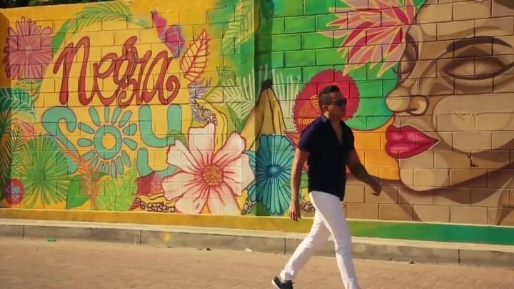 Negra soy, mural de Joyce Obregón
