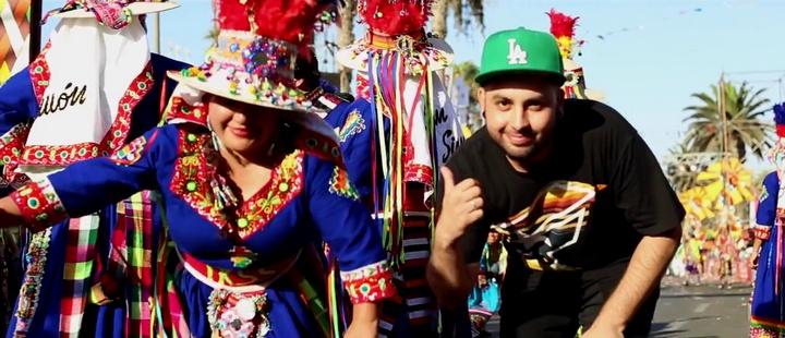 """""""Mi parte favorita de este carnaval es la integración que se produce entre los países"""""""