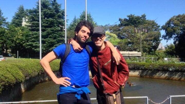 Koichi Wakui con Germán Bertasio