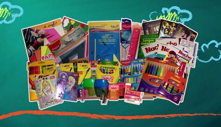 El Super Barato: Lista de útiles escolares