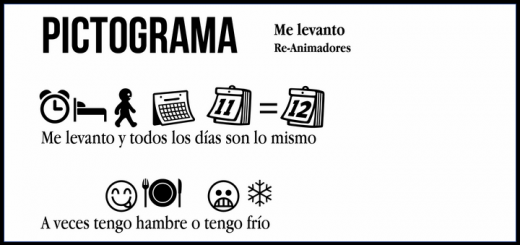 Pictograma: Re-Animadores – Me levanto