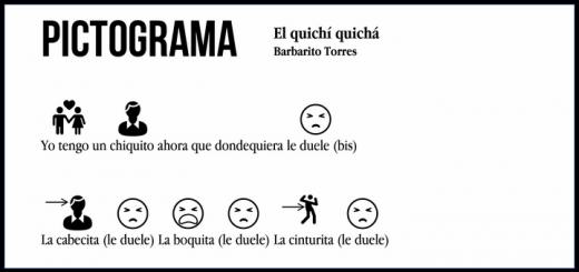 Pictograma: Barbarito Torres – El quichí quichá