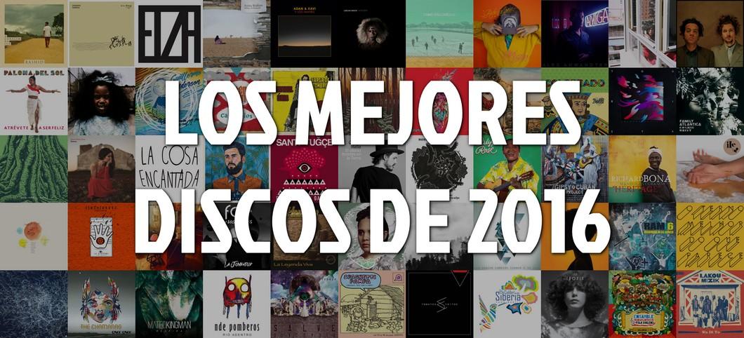 Lista de los mejores discos de 2016