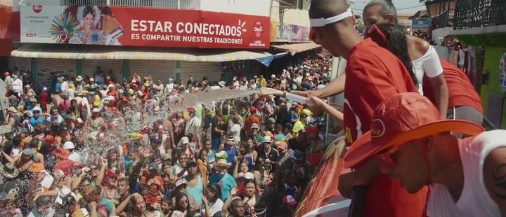 Los culecos (o las mojaderas) durante Carnaval en Panamá