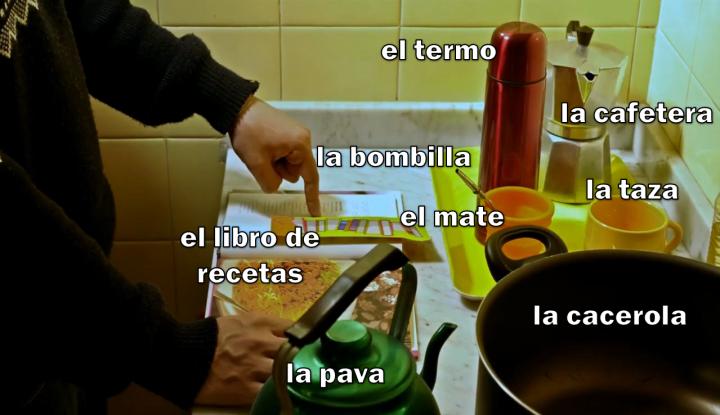 La cocina (detalle 1)