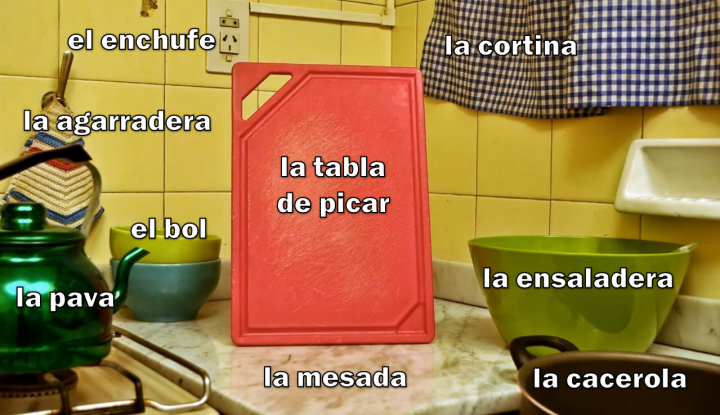 La cocina (detalle 2)
