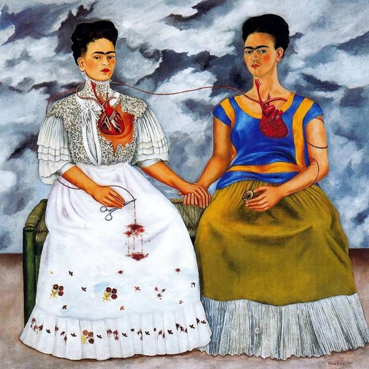 Las dos Fridas, Frida Kahlo