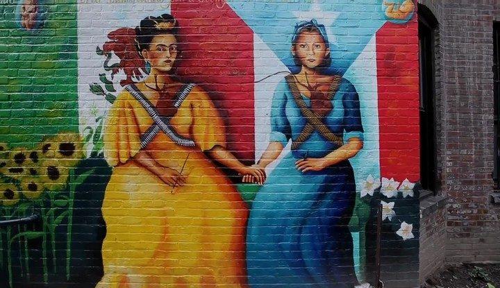 Frida Kahlo y Julia de Burgos