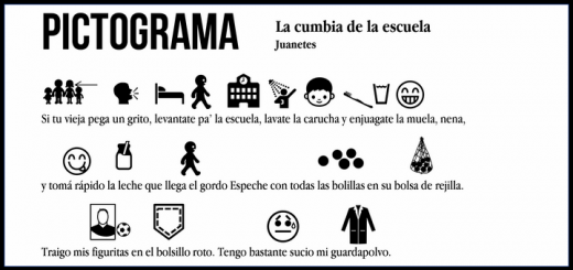 Pictograma: Juanetes - La cumbia de la escuela