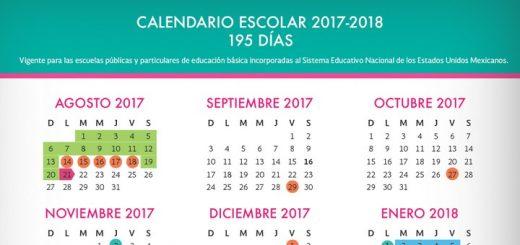 Calendario escolar 2017-2018 (México)