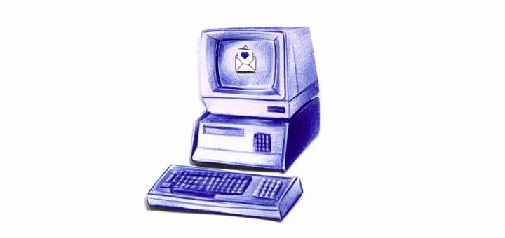 La computadora y el correo electrónico