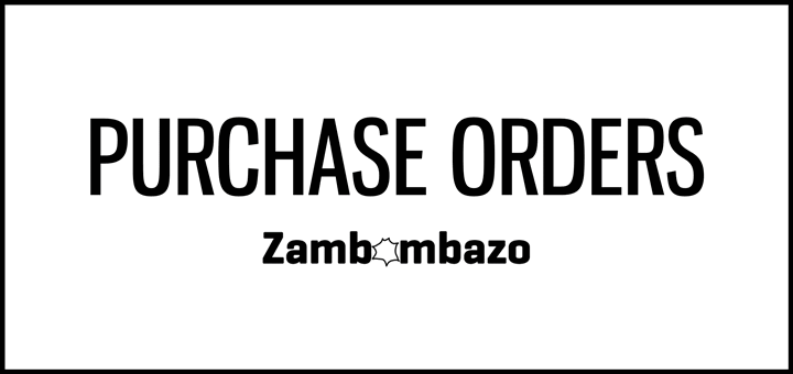 Zambombazo Purchase Orders