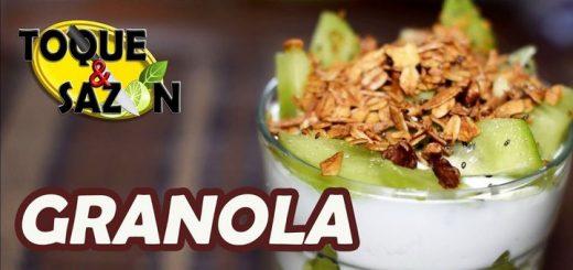 Toque y sazón: Granola casera