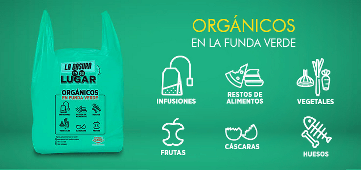 Supermaxi Ecuador: Funda verde: Orgánicos