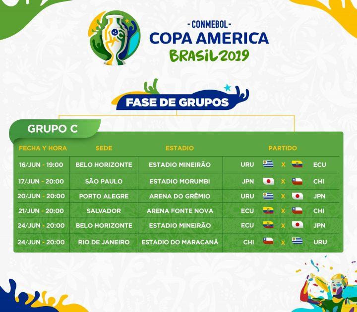 Copa América Brasil 2019: Grupo C