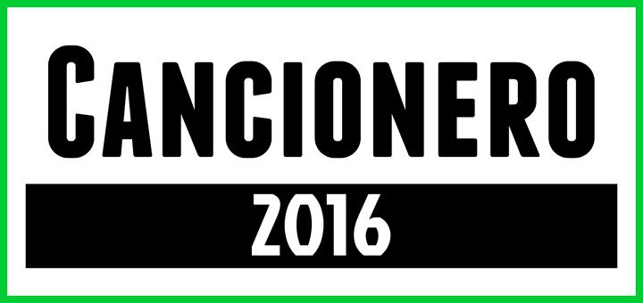 Cancionero 2016