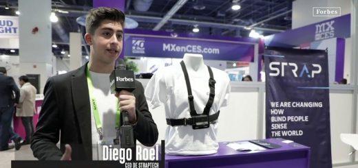 Diego Roel y su dispositivo para personas con discapacidad visual