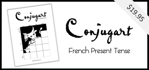 Conjugart: French Present Tense