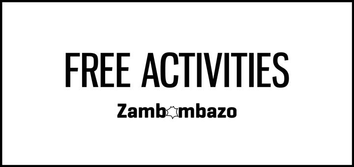 Zambombazo Free Activities