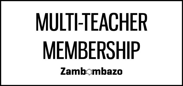 Zambombazo Multi-Teacher Discount Membership