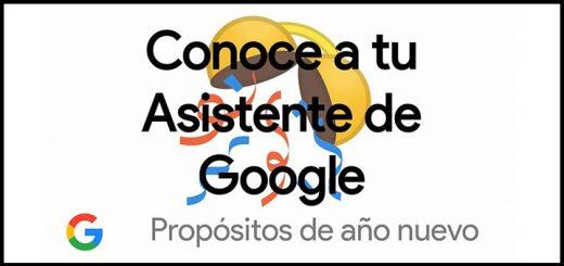 Asistente de Google: Propósitos de año nuevo