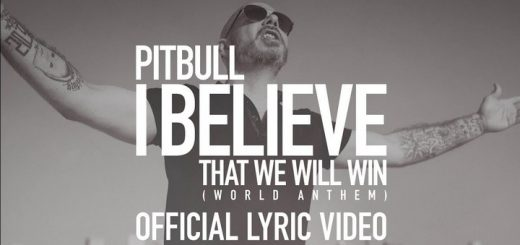 Pitbull - I Believe That We Will Win