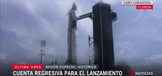 El despegue del cohete Falcon 9