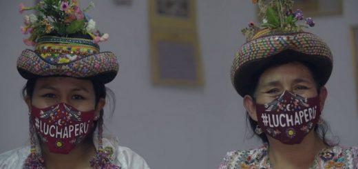 #LuchaPerú, mascarillas con mensajes positivos e identidad
