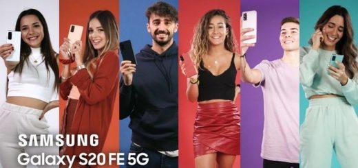 Los colores del Samsung Galaxy S20 FE