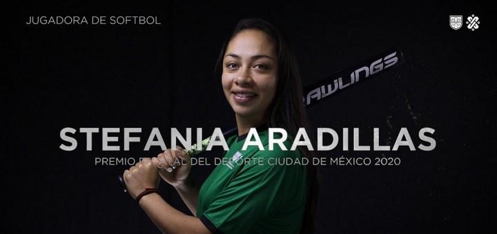 Stefanía Aradillas: Premio Estatal del Deporte CDMX 2020