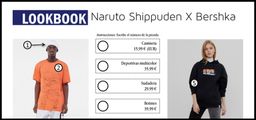 Lookbook: Naruto Shippuden X Bershka