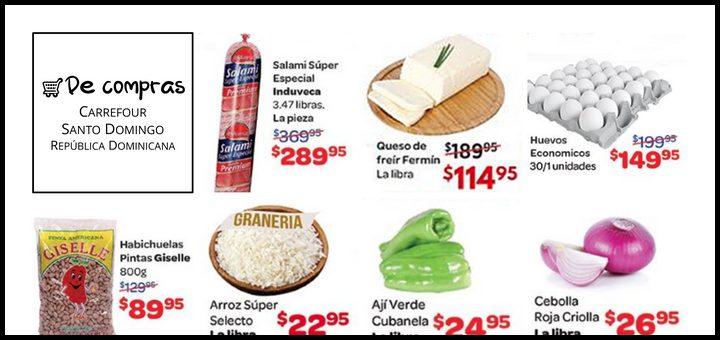 De compras: Carrefour Santo Domingo