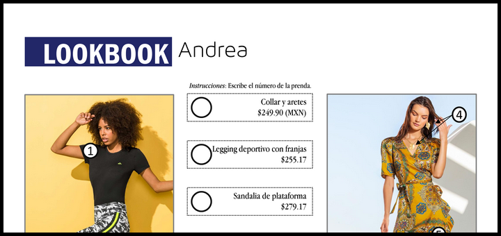 Lookbook: Andrea