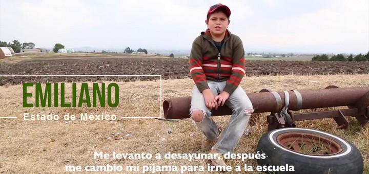La rutina diaria de Emiliano