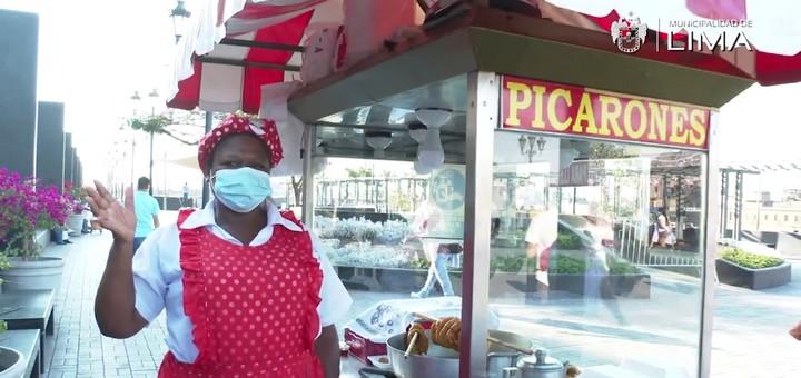 Lima Gastronómica: Los picarones